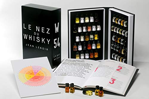 Le Nez du whisky 54 aromas (English)