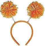 Amscan Pom Yarn Spings Head Bopper, 9' x 4 1/2', Orange