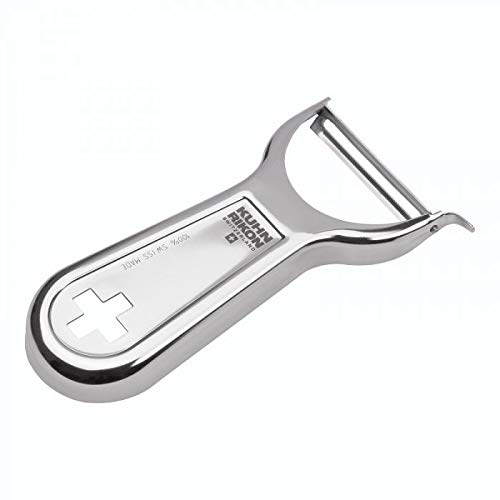"Kuhn Rikon Swiss Metal Peeler 4"", Stainless Steel"