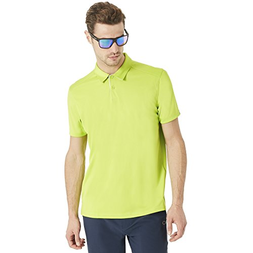 Oakley Lime Green Grand DIVISONAL Polo.