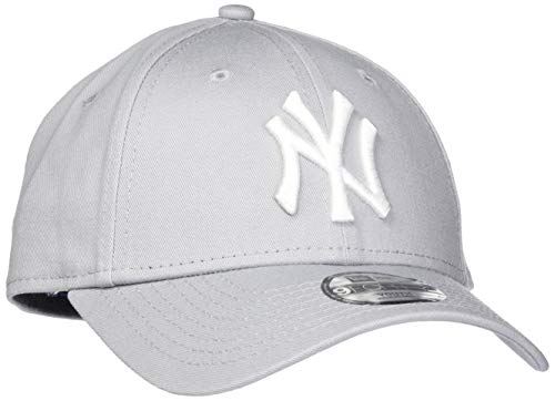 New Era Erwachsene Baseball Cap Mütze Kids M/LB Basic 9Forty Adjustable, Grey/White, One size, 10879075