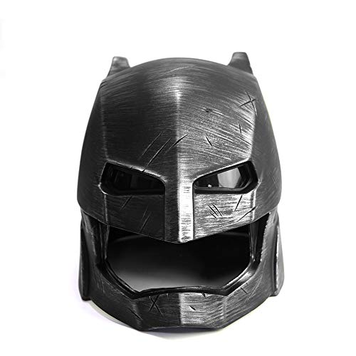 ZYER Casco de Batman, Máscara de Batman, Máscara de Halloween, Máscara de Fiesta de Disfraces, Accesorios de Disfraces de Cosplay, Máscara de Liga Pesada Amored Batman 1: 1