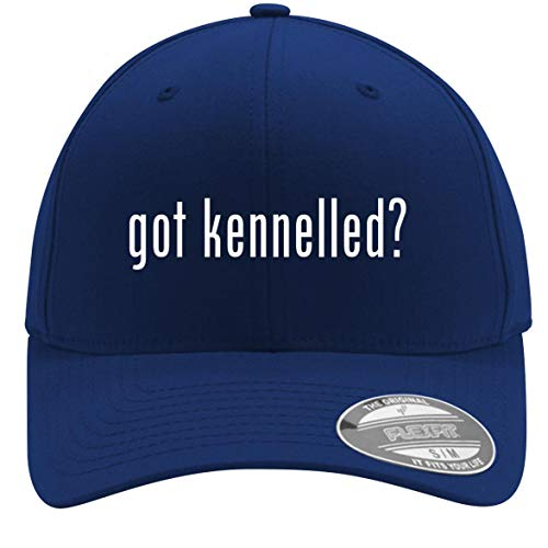 got Kennelled? - Adult Men's Flexfit Baseball Hat Cap, Blue, Small/Medium