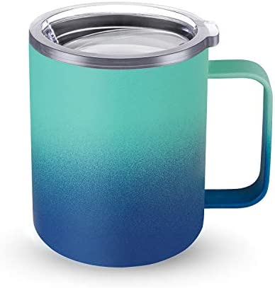 CIVAGO Stainless Steel Coffee Mug Cup with Handle 12 oz Double Wall Vacuum Insulated Tumbler product image