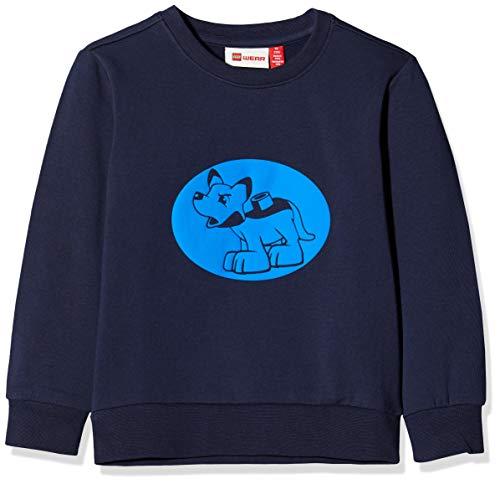 Lego Wear Baby-Jungen Lwsolar Sweatshirt, Blau (Dark Navy 590), (Herstellergröße: 104)