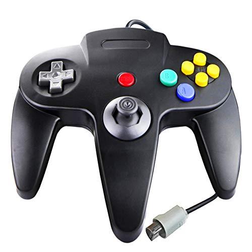 Game Controller für N64,SONVIEE Gamepad N64 Kabelgebundener 64 Controller Joystick für Classic N64 Console