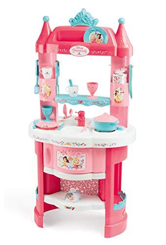 Smoby- Disney Princess Cucina Castello Principesse, Colore Rosa, 7600311700