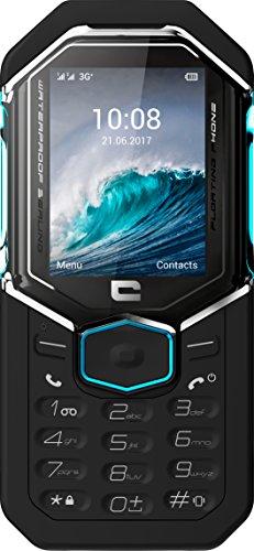 Crosscall Shark-X3 Telefono Cellulare Resistente, 2.4'' - 64 GB Espandibili, Single SIM, Nero