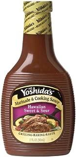 Mr. Yoshida's Marinade & Cooking Sauce, Hawaiian Sweet & Sour, 17 Ounce (Pack of 6)