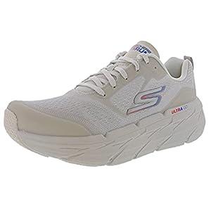 Skechers Women's Max Cushioning Premier Walking & Running Shoe Sneaker, Natural, 8.5