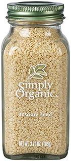 Simply Organic Whole Sesame Seed, Certified Organic | 3.7 oz | Sesamum indicum L.