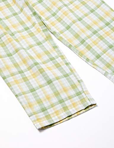 [セシール]パジャマ人気のチェック柄シャツ綿100%二重ガーゼNW-205レディースE日本LL-(日本サイズ2L相当)