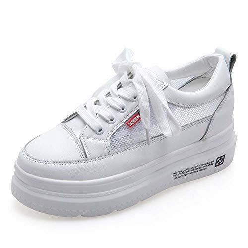 SHOES-HY Zapatos Casuales para Mujer, 2019 Zapatillas de Plataforma Planas Zapatillas de...