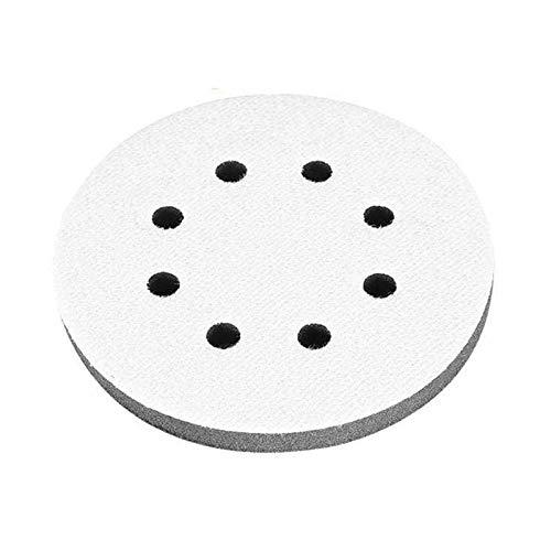 Interface-Pad soft, 8-Loch-Interface-Pad, Interface Kissen Pad Geeignet für Pneumatische und Elektrische Poliermaschinen und Unebene Holzoberflächen