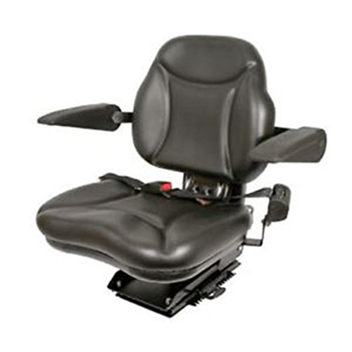 A & I Products Big Boy Suspension Tractor Seat - Black, Model Number BBS108BL