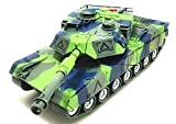 FunBlast Battlefield Military forces tank toy is a simulation of real military battle scene toy. Highest Quality ABS Plastic. NON-TOXIC and SAFE. This Toy have extra grip high quality tire can crawl easily Full functions forward /backward/ stop. 300 ...
