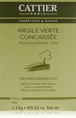 Cattier Vrac Argile Verte Concassée Bio 3 Kg