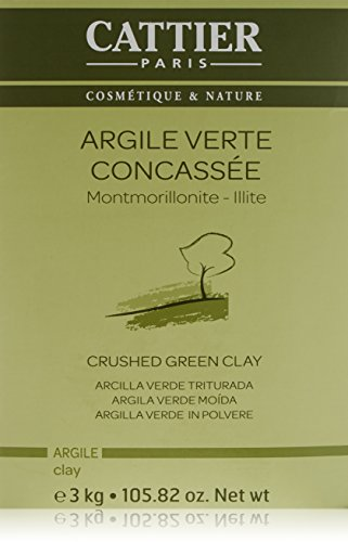 Cattier argilla verde in polvere, sfusa, biologica, 3kg