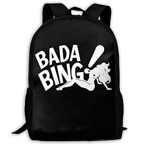 Lawenp Bada Bing Zaino per Laptop da Viaggio in Tela Casual Bookbag