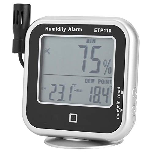Digitales Thermo-hygrometer Etp110 Taupunkt Messgerät Feuchte- / Temperatur-taupunkt-messgerät Für Zuhause/Labor/Lager/Werkstatt/Feld