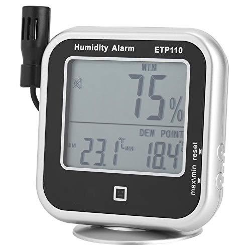 ETP110 Digitales Thermo-Hygrometer Feuchtigkeits-Taupunktmessgerät für Heim/Labor Heimlabor Temperatur- und Feuchtigkeits-Taupunktmessgerät