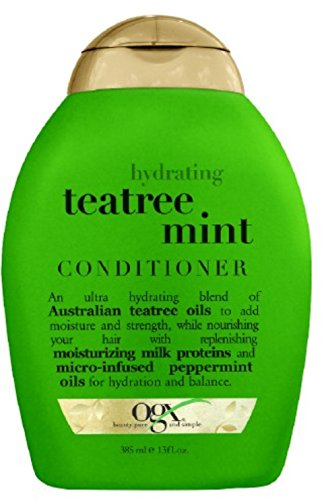 OGX Hydrating TeaTree Mint Conditioner, 13...