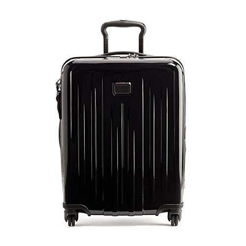 TUMI - V4 Continental Expandable 4 Wheeled Carry-On - 22-Inch Hardside Luggage for Men and Women - Black