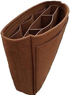 كافيين هاوس 777 - منظم للحقيبة لترتيب المكياج والعطور والكريمات لتنظيم حقيبة السفر (اللون البني, 33*13*41 سم)
