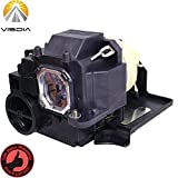 NP33LP Replacement Projector Lamp with Housing for NEC UM361X UM351W UM351W-WK UM351Wi-TM UM351Wi-WK UM361X-WK UM361Xi-TM UM361Xi-WK Projectors by Visdia