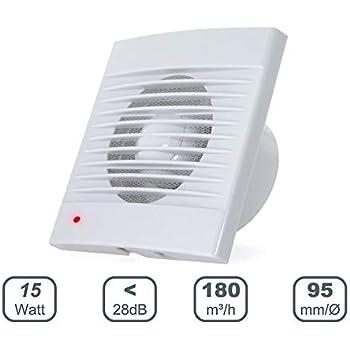 AEROMIS ventilador extractor de pared y techo para cocina o baño ...
