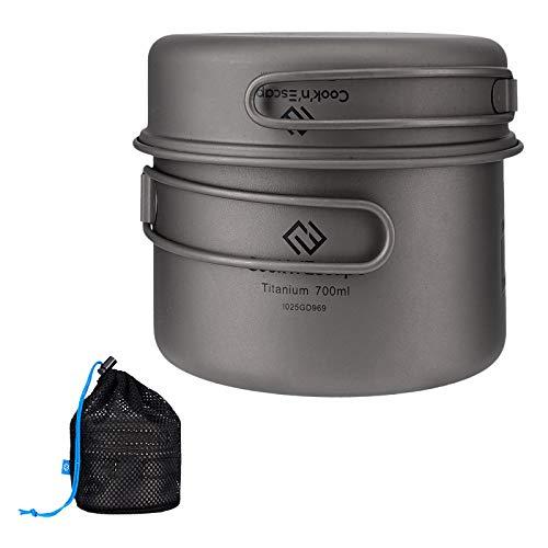 COOK'N'ESCAPE Titanium Pot Pan S...