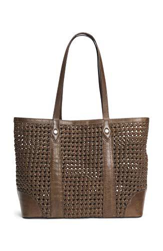 Frye Melissa Woven Shopper Bag, Natural