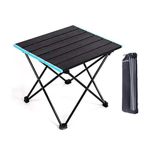 WYYH Campingtisch Klappbar Leicht, Aluminiumlegierung Camping Klapptisch Einfach Zu Reinigen Klapptisch Tisch Klappbar Verwendet Für Picknick Camping Strandgrill Mit Aufbewahrungstasche Medium