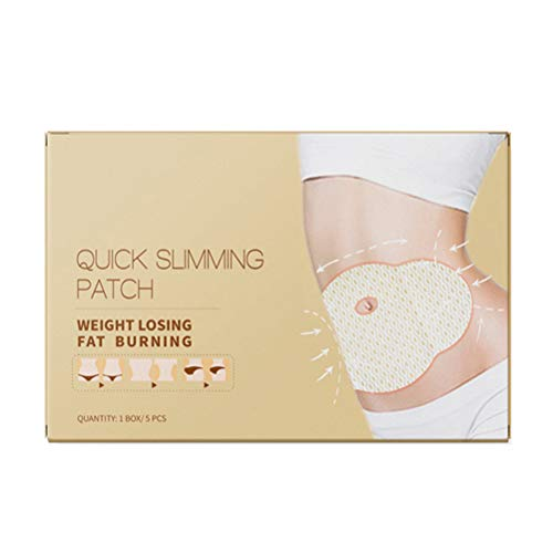 XOYZUU Slim Patch, Belly Fat Burner, Tighten Slimming Wonder Patch, All Natural Ultimate Body Wrap Weight Loss Fat Burner and Cellulite Removal - 5 Pcs