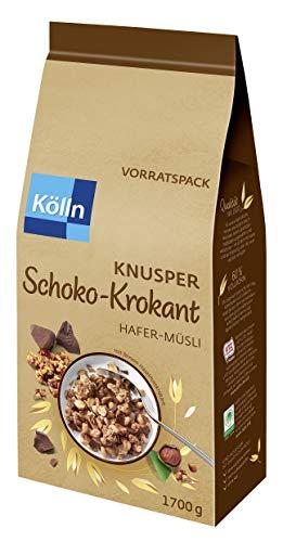 Kölln Müsli Knusper Schoko Krokant, 1.7 kg
