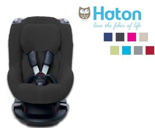 Haton–Bezug für Auto-Kindersitz Gruppe 1 Maxi Cosi - TOBI - anthrazit