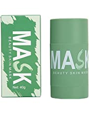 Groene Thee Zuivering Masker, 40g Groene Thee Zuivering Klei Stok Masker Olie Controle Effen Masker Diepe Reiniging Hydraterende Masker