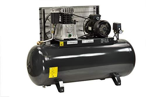 Pro-Lift-Gereedschappen compressor 4kW luchtcompressor 11 bar 380 V afgegeven hoeveelheid 480 l/min werkplaatscompressor persluchtketel 270 l