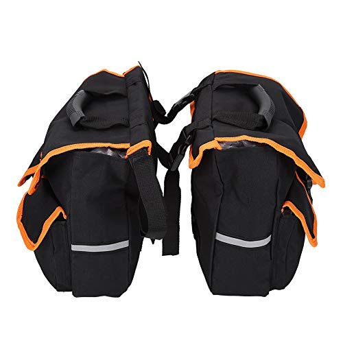 Dwawoo Fahrradsitz Satteltasche, Outdoor Radfahren Abnehmbare Hintere Satteltasche Multifunktionale Bequem Fahrrad Trunk Pannier Carrier Oxford Tuch Tasche Container