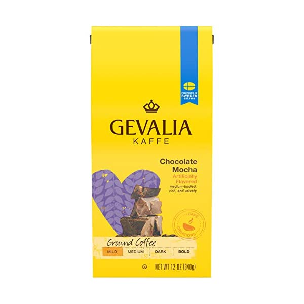 Gevalia Mocha Coffee Froth Packets K-cup Pods