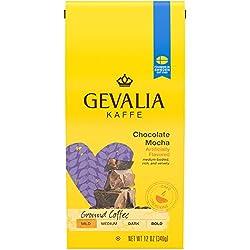 Gevalia Chocolate Mocha Mild Roast Ground Coffee (12 oz Bag)