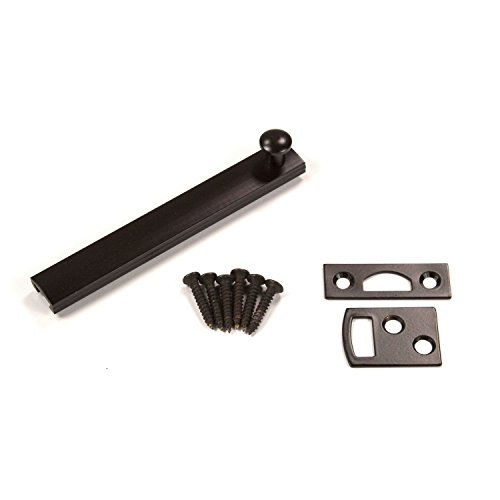 Stanley National Pro Series N287-017 4 Inch Solid Brass Surface Bolt Oil Rubbed Bronze