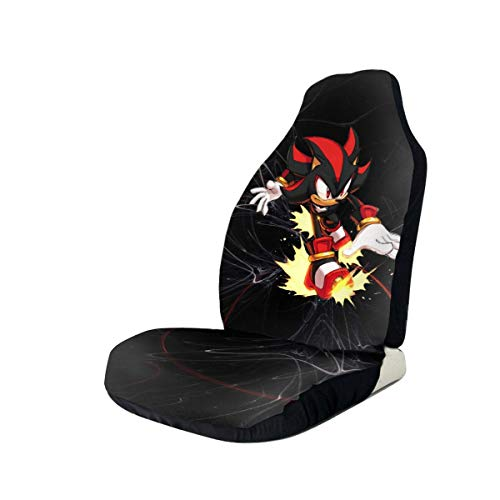 Ertregysrtg Sonic Shadow The Hedgehog Car Seat Case Universal Protectors Covers Suitable for Most Car