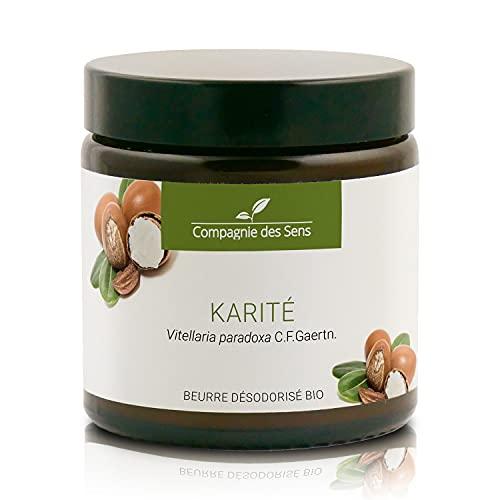 Karité - Beurre Végétal Désodorisé BIO - Première pression à froid - 100mL