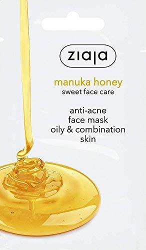 Ziaja Mascarilla Facial De De Manuka Antiacné, Miel, 7 Mililitro
