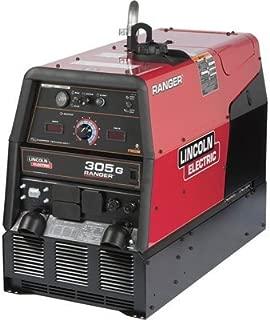 - Lincoln Electric Ranger 305 G Multiprocess DC Welder/AC Generator Featuring Chopper Technology - 305 Amp DC Welding Output, 9,500 Watt AC Power Output, Model# K1726-5