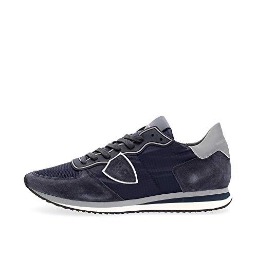 Philippe Model Sneaker Uomo cod.TZLU Blue Size:45