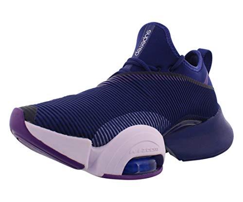Tênis feminino Nike Air Zoom Superrep HIIT Class Bq7043-550, Regency Purple/Barely Grape-black, 9