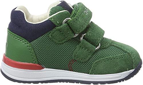 Geox Jungen B RISHON Boy B Sneaker, Grün (Green C3000), 20 EU