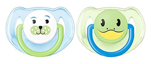 Philips AVENT - Chupete (Chupete clásico para bebés, Silicona, Multicolor, 6 mes(es), 18 mes(es), Inglaterra)